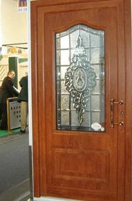 vhodna vrata les