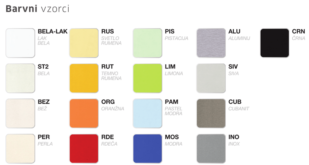 barvni vzorci