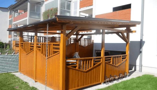 leseni paviljon