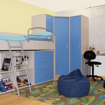 Razlike med tipskimi in po naročilu izdelanimi otroškimi sobami s pogradi