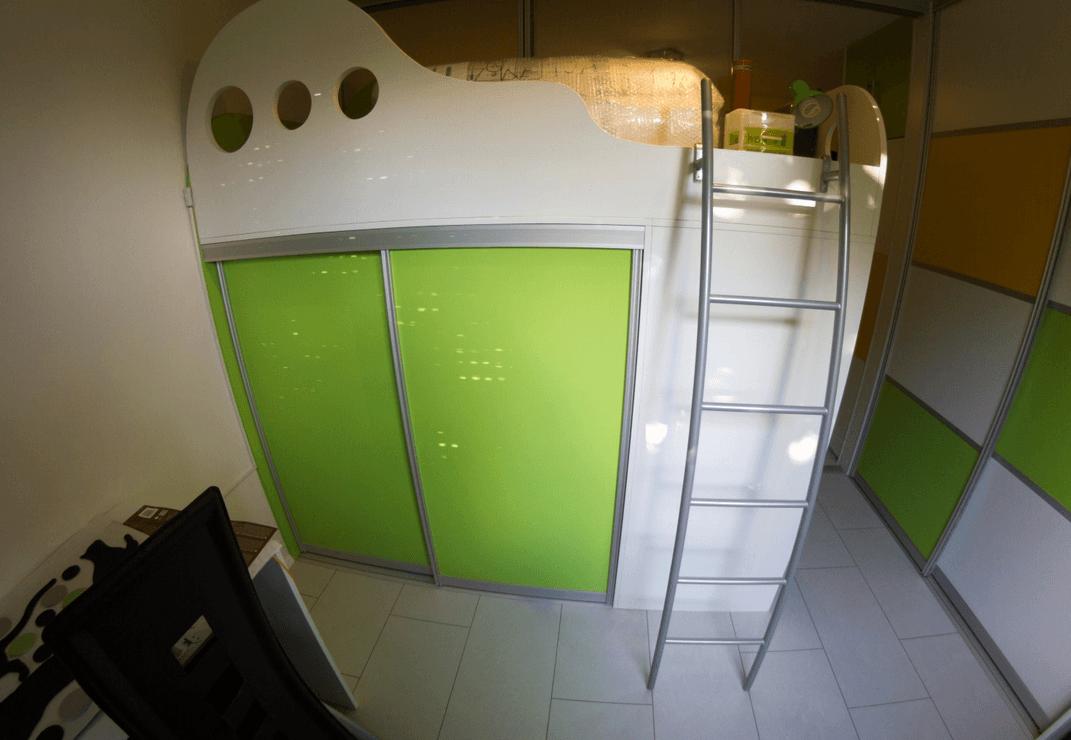 otroške sobe s pogradi