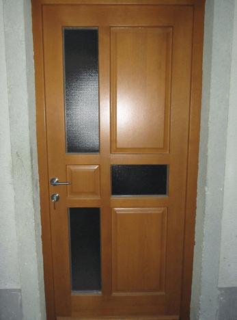 vrata les vhod