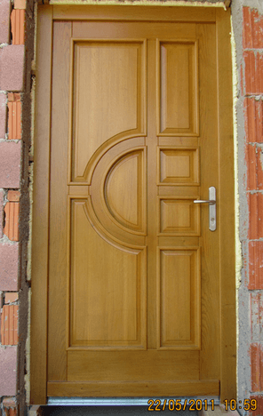 zunanja vrata novogradnja
