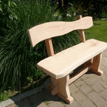 Vrtne garniture iz lesa – 11 primerov