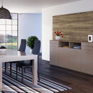Preureditev dnevne sobe – ali se odločiti za fiksne ali premične predelne stene?