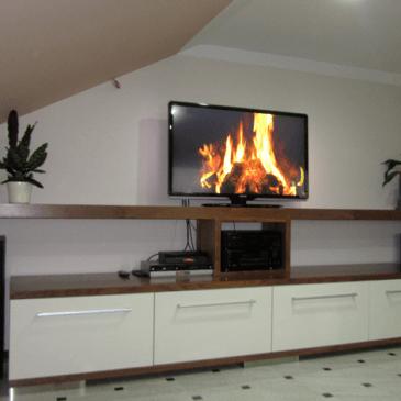 Izdelava dnevne sobe za 3 različne prostore