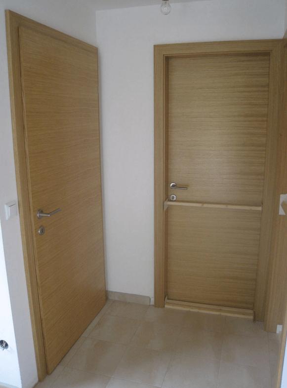 izdelava notranjih vrat hodnik predprostor