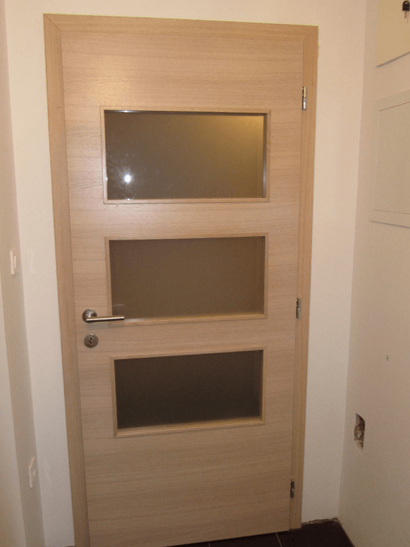 kombinirana notranja vrata s steklom