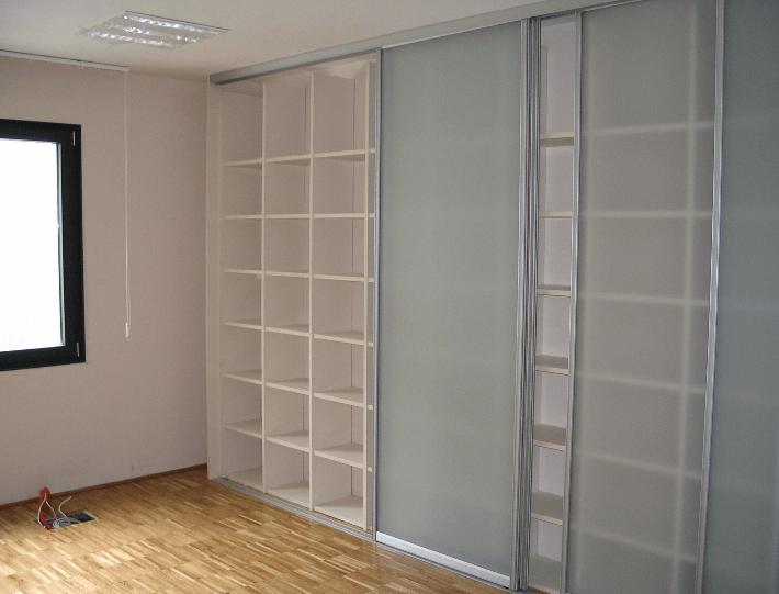 vgradne omare za dnevno sobo pregrada