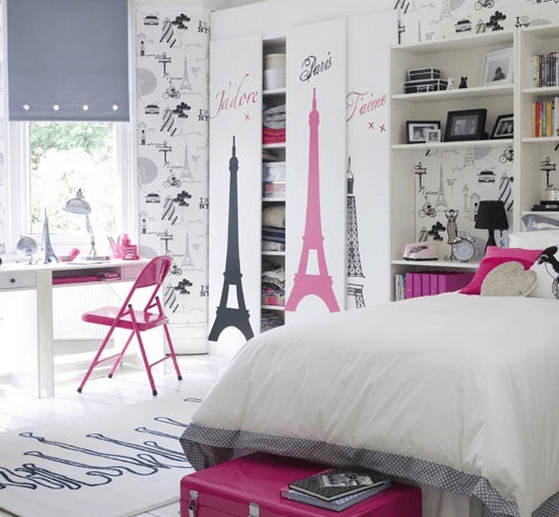 mladinska soba za punco