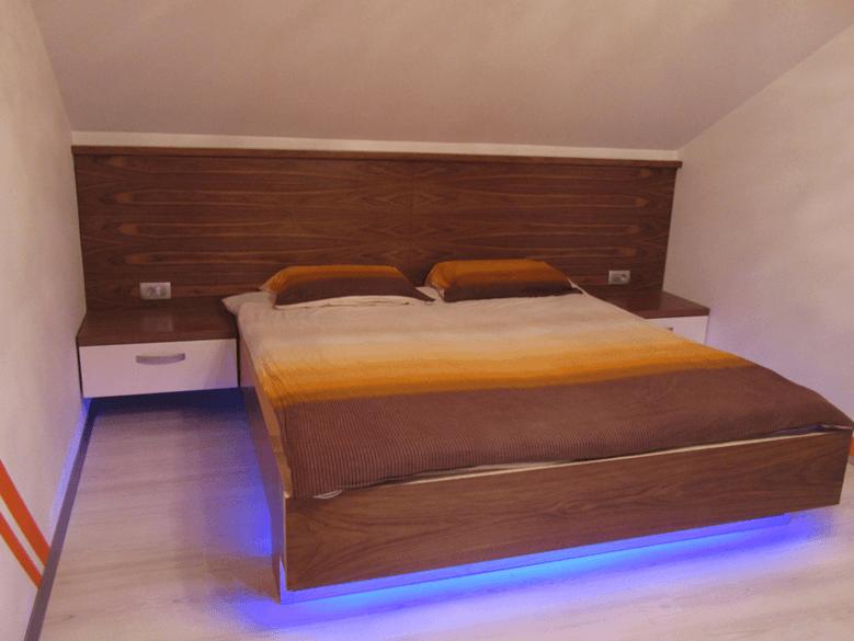 moderne lesene postelje