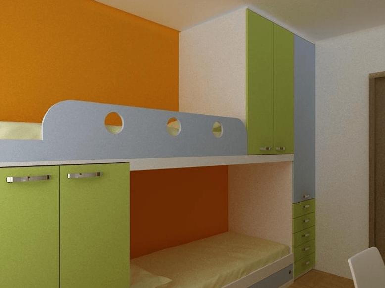 omare v otroški sobi v kotu