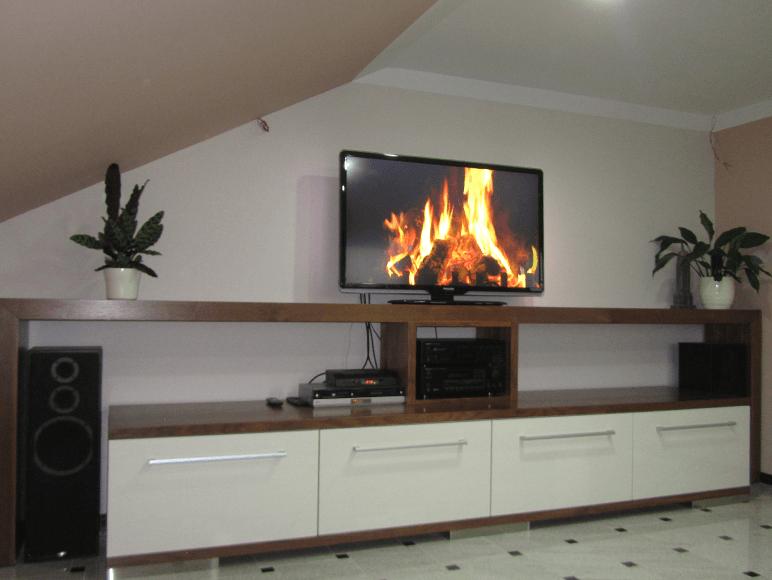 dnevna soba v enem prostoru
