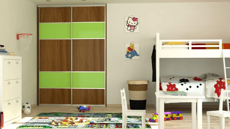 ureditev otroške sobe