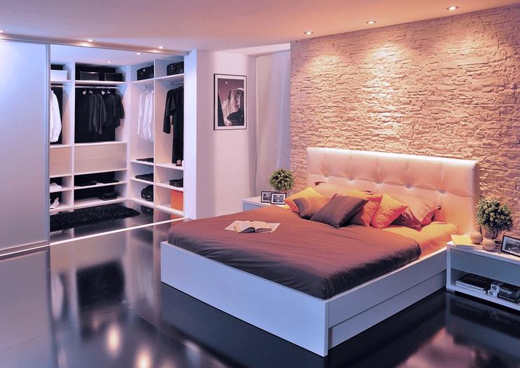 moderna spalnica po naročilu