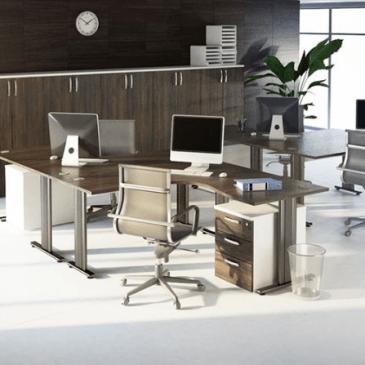 3 primeri modernega opremljanja pisarn