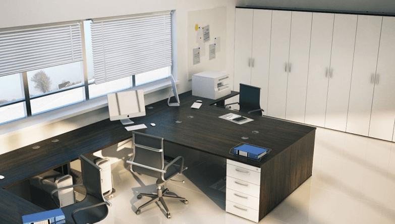 ureditev pisarne