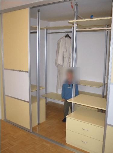 garderobna soba otroški prostor