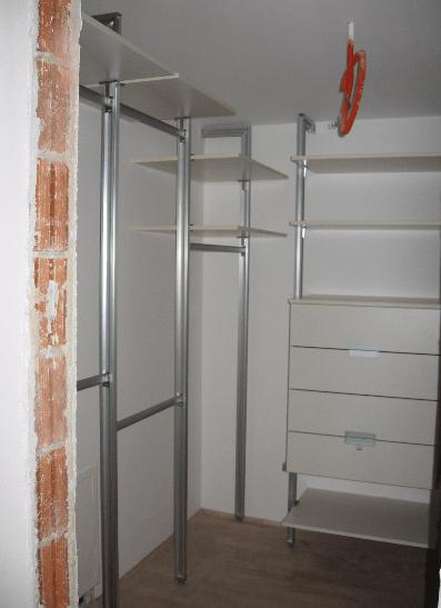 garderobna soba v novogradnji