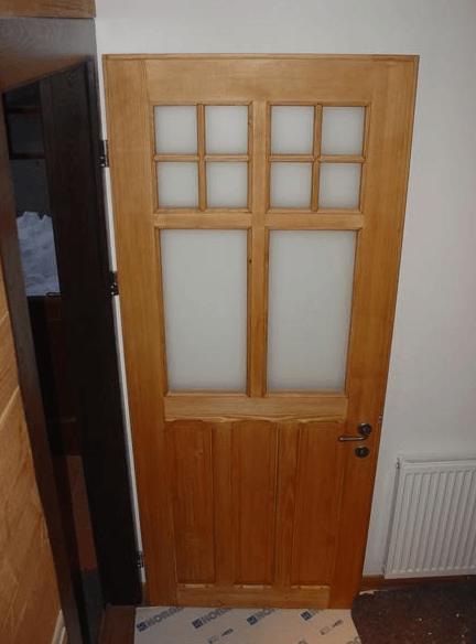 montaža notranjih varnostnih vrat