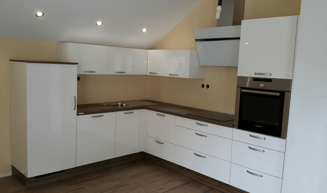 načrtovanje nove kuhinje