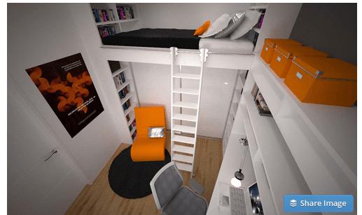 načrtovanje otroške sobe
