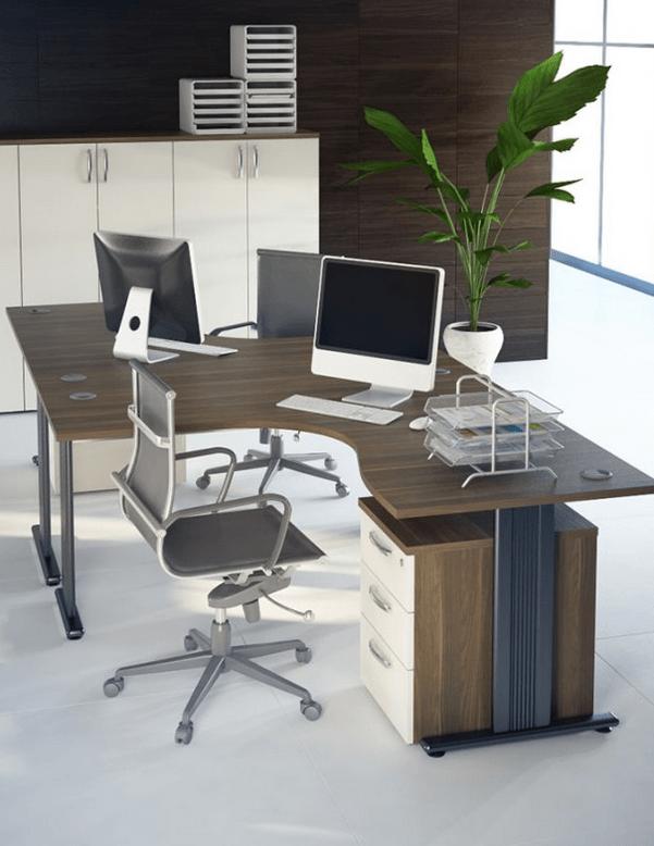 oprema pisarn kotne mize