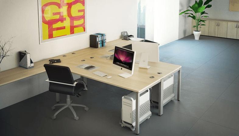 oprema pisarn vzdolžne stene