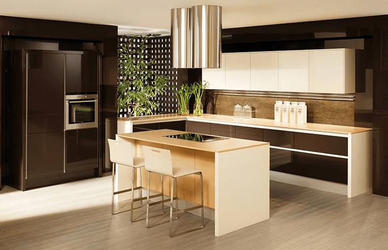prefinjena moderna kuhinja