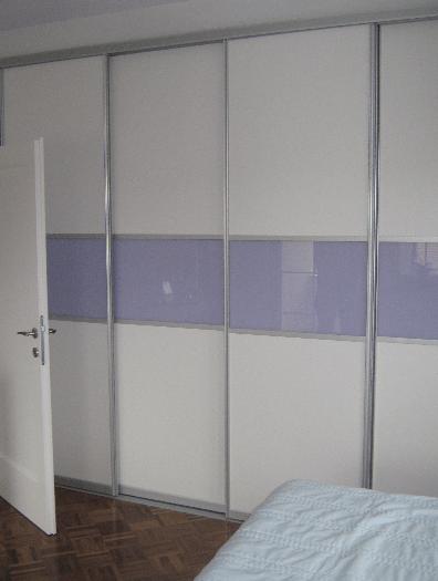štiridelna vgradna omara