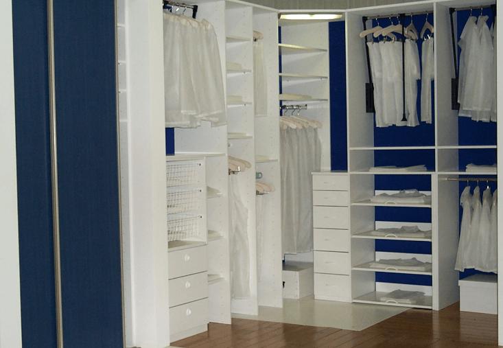 garderobna soba notranjost