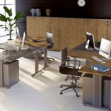 Osnoven opis notranje opreme vsake pisarne