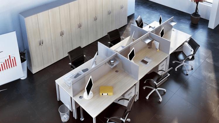 pisarna z omarami