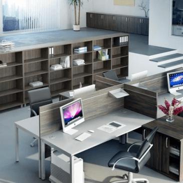 Štirje najpogostejši tipi izdelave pisarniških omar
