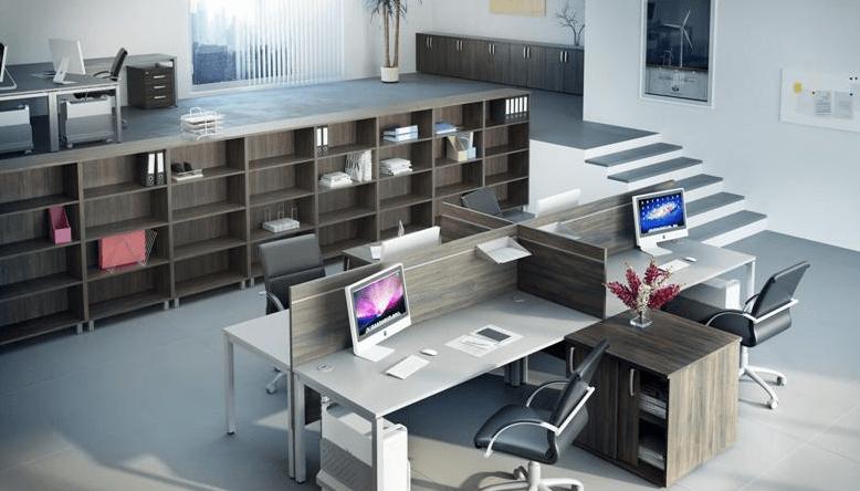 pisarniške komode in regali