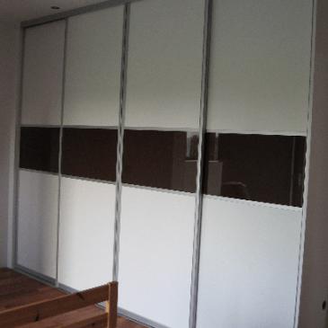 Vgradna omara za spalnico