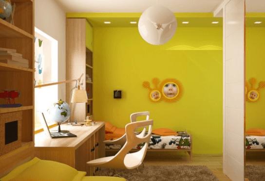 ali so barve v otroški sobi pomembne