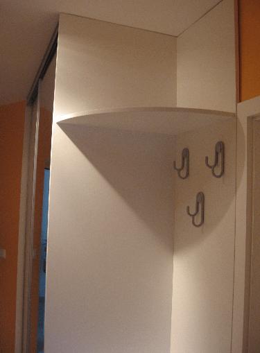 izdelava omare po meri poševni strop