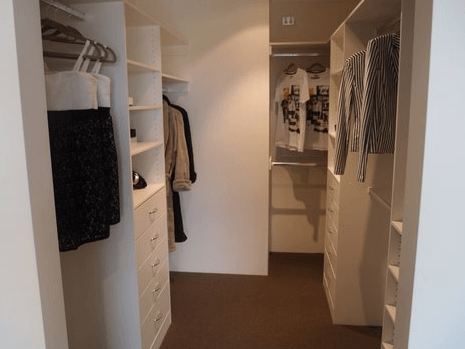 Nasveti in pomoč za izris garderobne sobe