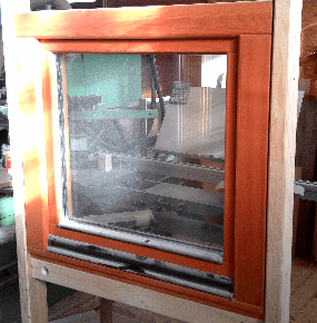 Lesena okna, ki se ne rosijo