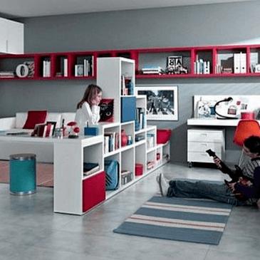 3 izjemno praktične ideje za opremljanje mladinske sobe za dva otroka