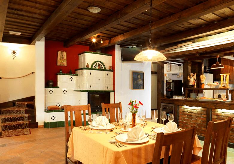 opremljanje tradicionalne restavracije