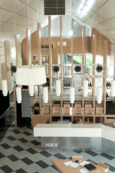 opremljanje vinoteke Marof