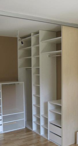 poceni garderobne sobe