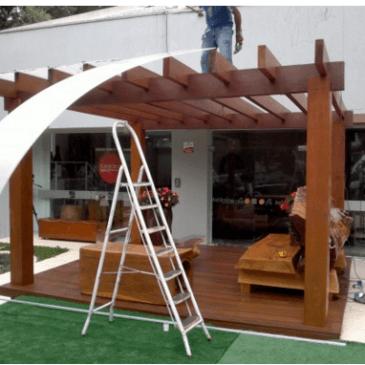 Predstavitev možnosti za pokrivanje terase