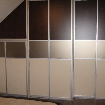 Vgradna omara za spalnico po meri