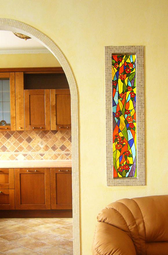 vitraž dekor