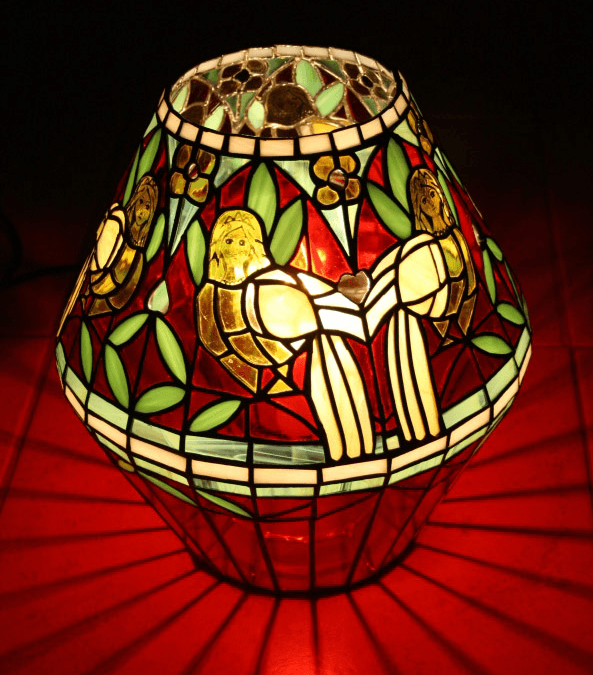 vitraž svetilka