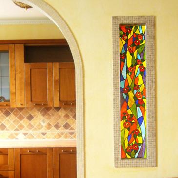 Vitraž za stanovanjske, poslovne in religiozne prostore