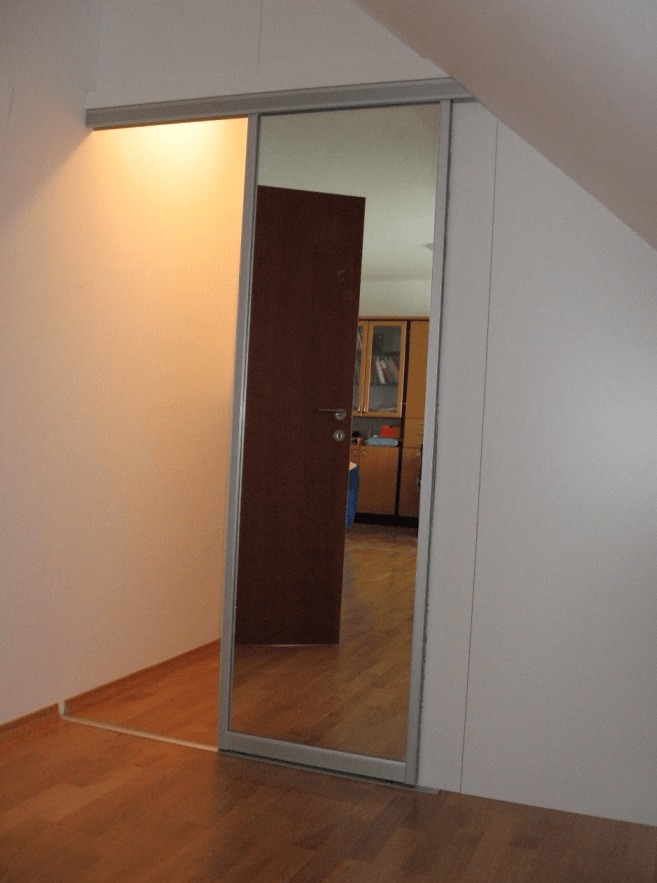 Ureditev mansardnega stanovanja
